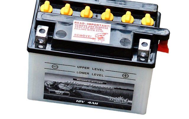 Akkumulátor beszerelése